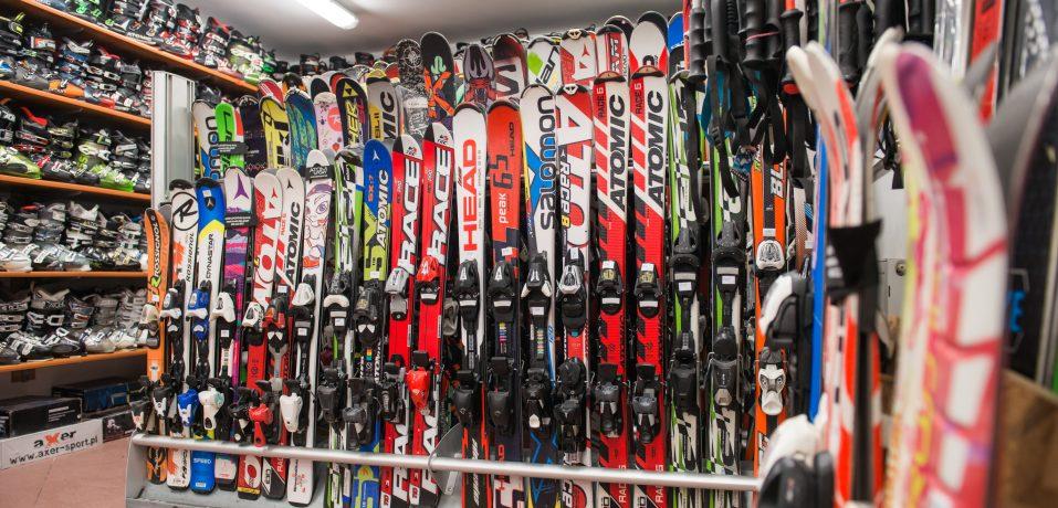 Początki na nartach :)